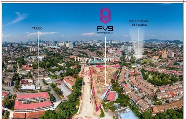 PV9 Residences, Taman Melati, Setapak