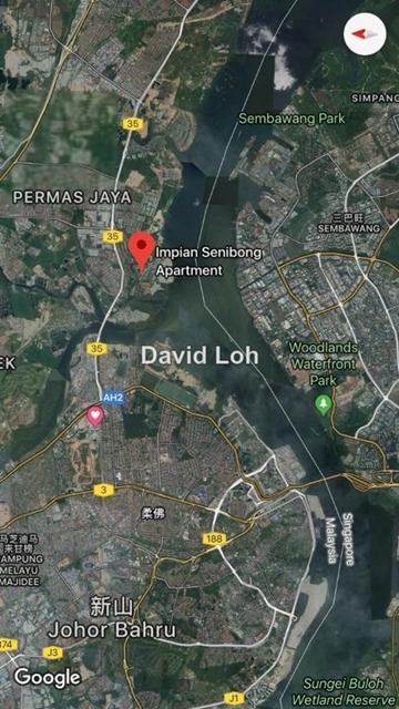 Impian Senibong Apartment, Bandar Baru Permas Jaya, Permas Jaya