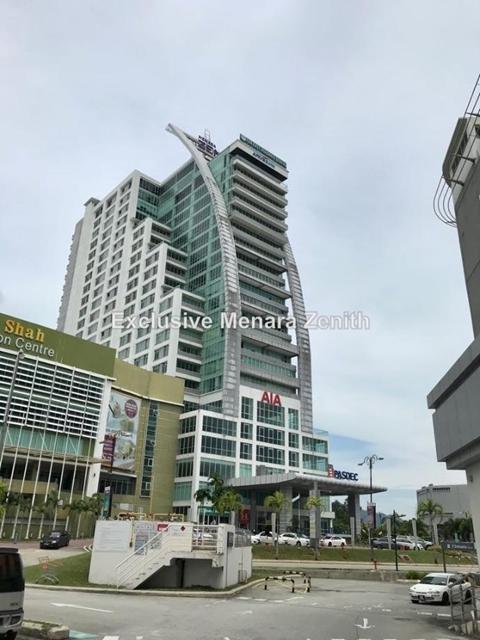 Menara Zenith, Kuantan, Jalan Putra Square, Kuantan