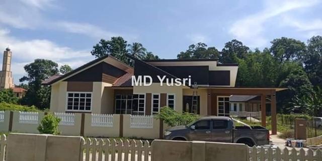 Banglo Moden Setingkat Di Kubang Batang Wakaf Baru Wakaf Baru Bungalow 4 Bedrooms For Sale Iproperty Com My