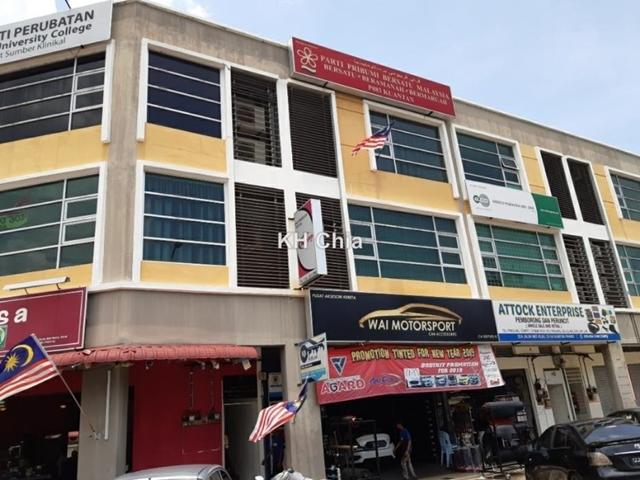 Jalan Mat Kilau opp Hospital Tengku Ampuan Afzan, Kuantan