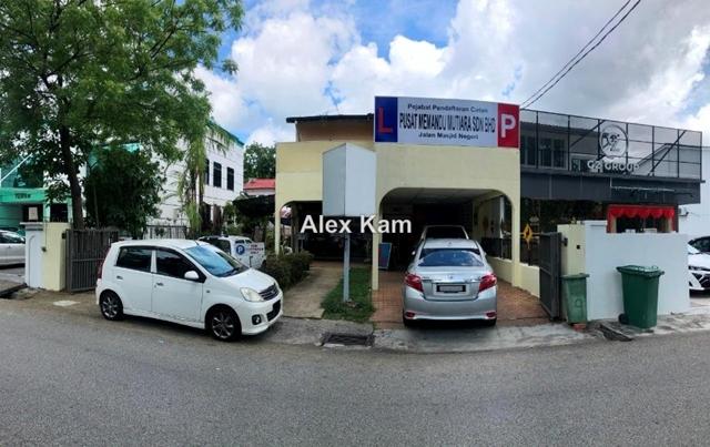 Mainroad Commercial Use Double Storey Semi-Detached, Jalan Masjid Negeri, Greenlane