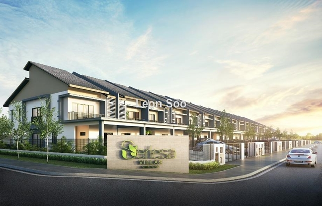 serdang height , serlesa villas , Serdang