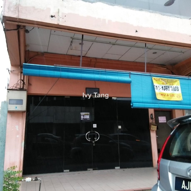 Shop house double story, Jln Yang Kalsom, Ipoh