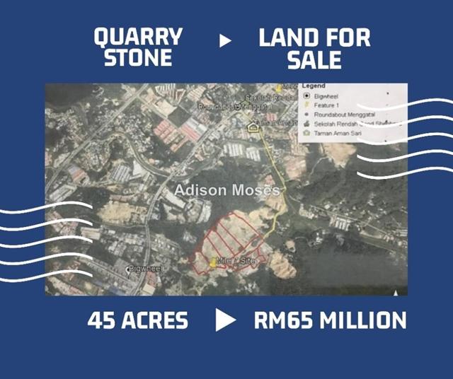 Quarry Stone Land For Sale, menggatal, Kota Kinabalu