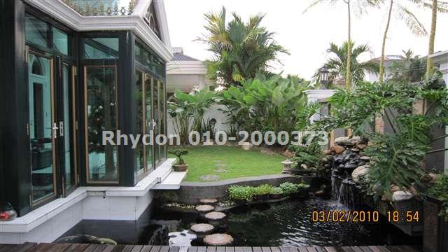 Garden With Fish Pond