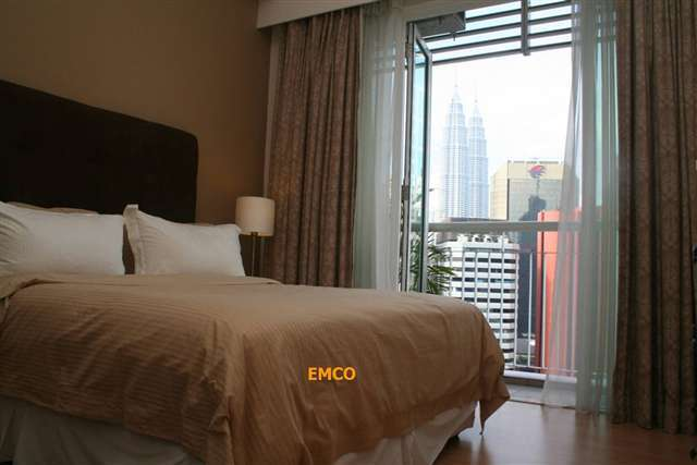klcc view from room
