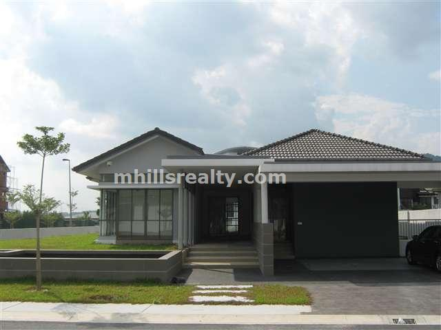 Single story house plans malaysia for Single storey bungalow design