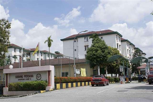 Subang Perdana Goodyear Court 6, USJ, Subang Jaya