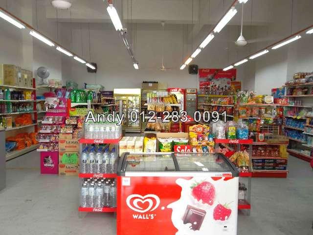 Inside Block 2 Minimarket