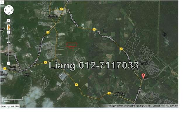 ulu choh, - direct landlord 30acres, Iskandar Puteri (Nusajaya)