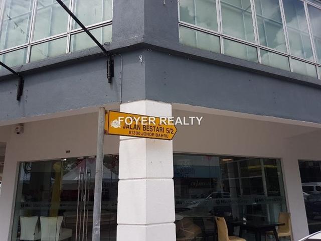 three storey shop for sale with roi 4%, Tmn Nusa Bestari, Skudai