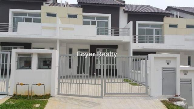 Double storey terrace house, Tmn Setia Eco Garden, Iskandar Puteri (Nusajaya)
