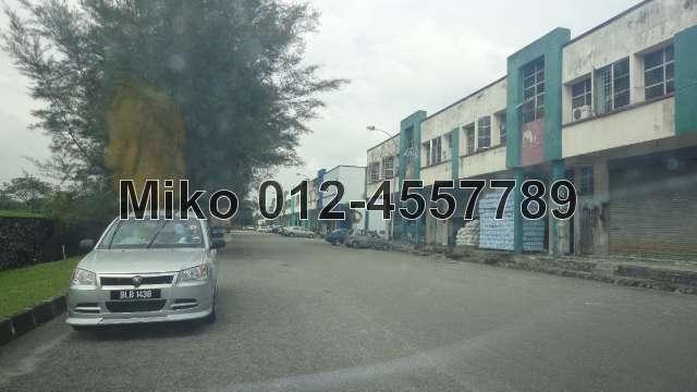 Subang 2, 1 1/2 Sty Warehouse