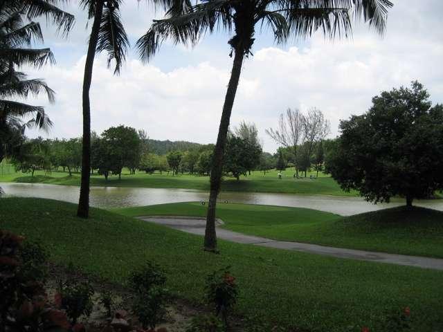 Golf resort living