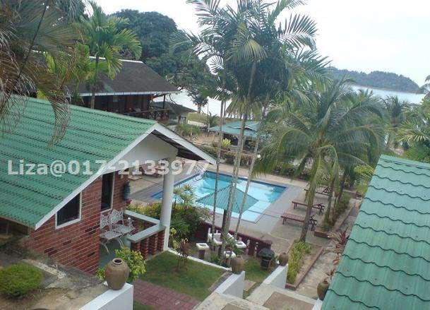 20 Above bedrooms HotelResort for sale in Endau Beach Resort