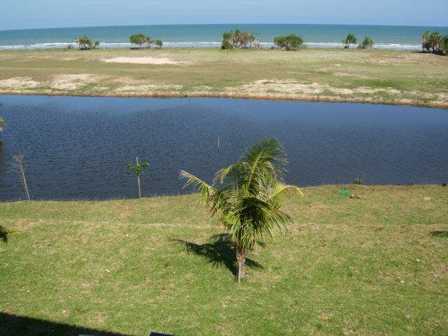 Beach Pond viewed from house