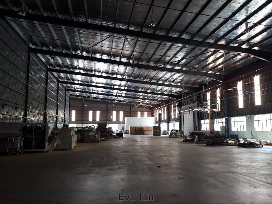 Senai 4600Amp Single Storey Detached Factory c/w 2 Mezzanine Floor for Sale, Senai, Johor Bahru