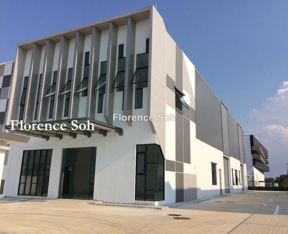 EcoBusiness Park 1 Tebrau Semi D Factory For Rent, Johor Bahru