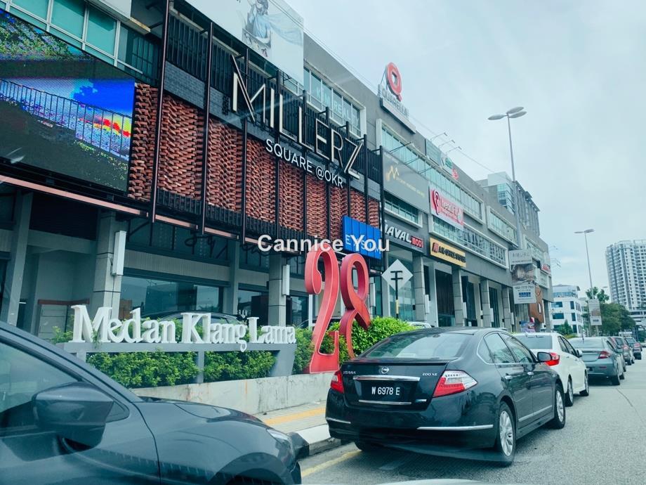 Medan 28 Jalan Klang Lama, Jalan Klang Lama (Old Klang Road)